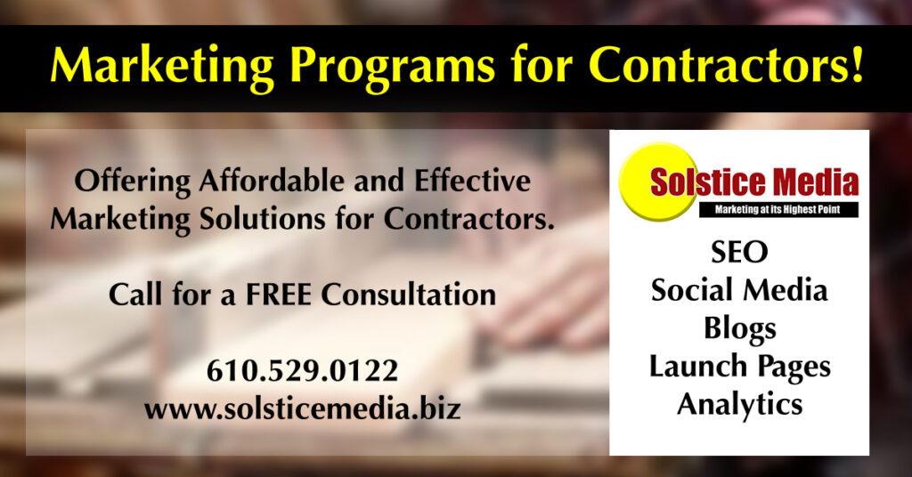 Marketing Programs for Contractors, Contractor Program, SEO, Marketing